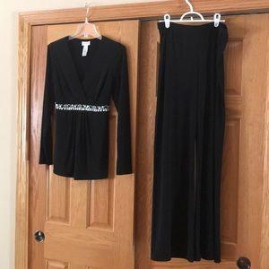 Liz Claiborne formal shirt and pant set